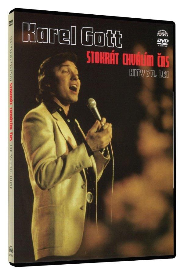 Karel Gott - Stokrát chválím čas - hity 70. let (DVD)