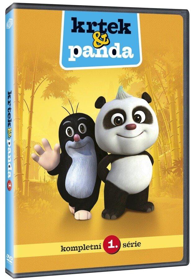 Krtek a Panda 1 (DVD)