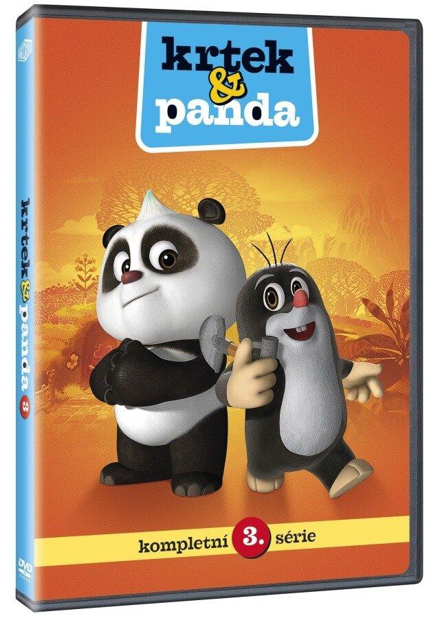 Krtek a Panda 3 (DVD)
