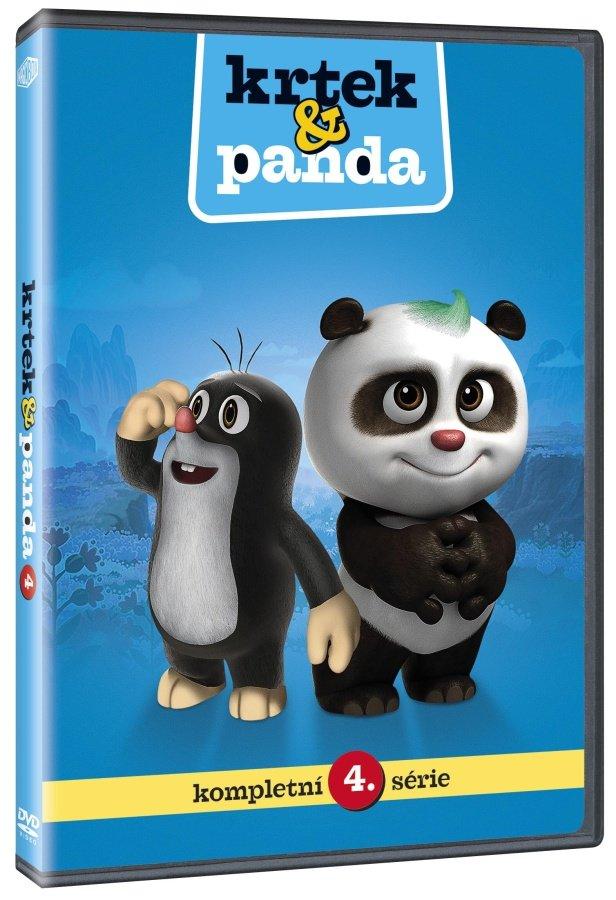 Krtek a Panda 4 (DVD)