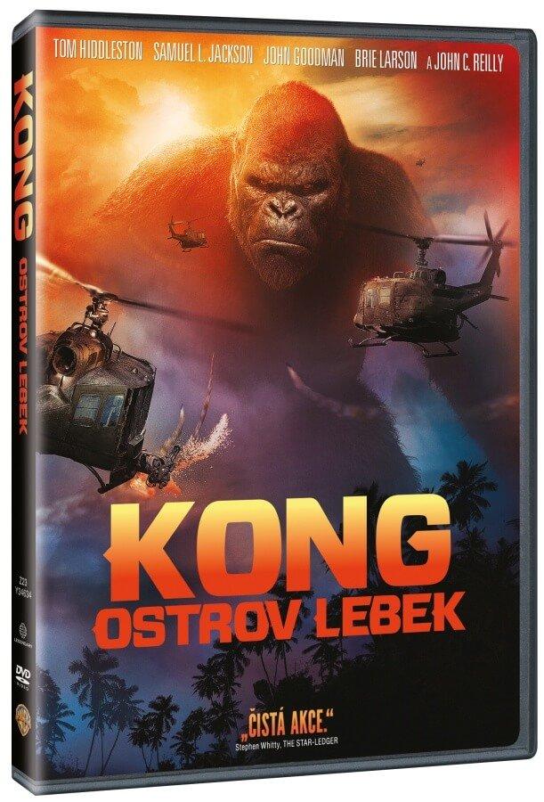 Kong: Ostrov lebek (DVD)