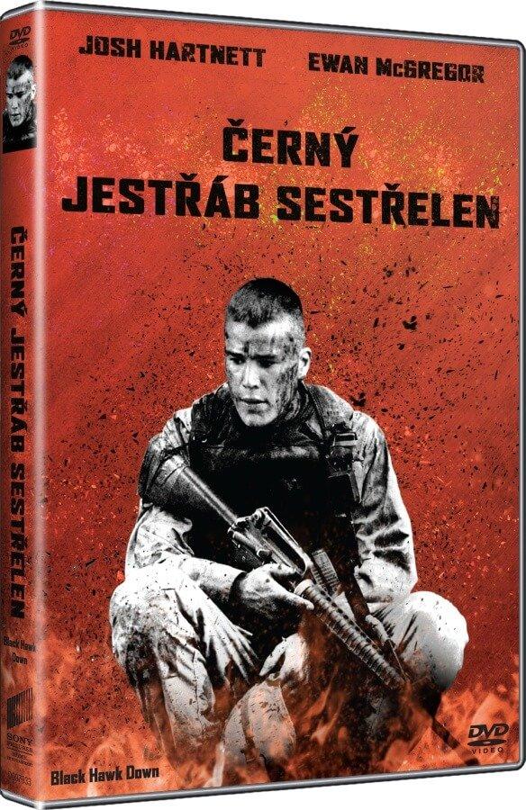 Černý jestřáb sestřelen (DVD) - prodloužená verze - edice Big Face