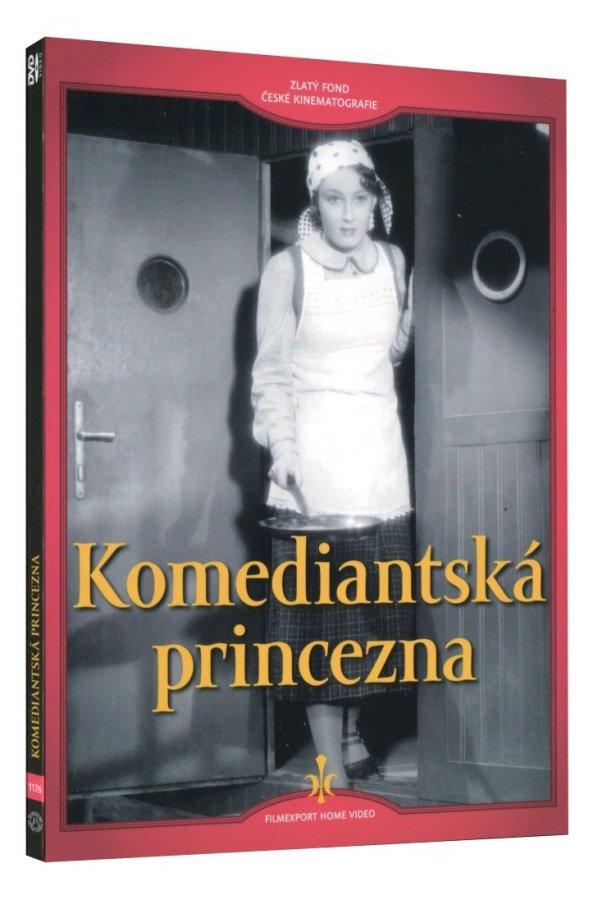 Komediantská princezna (DVD) - digipack