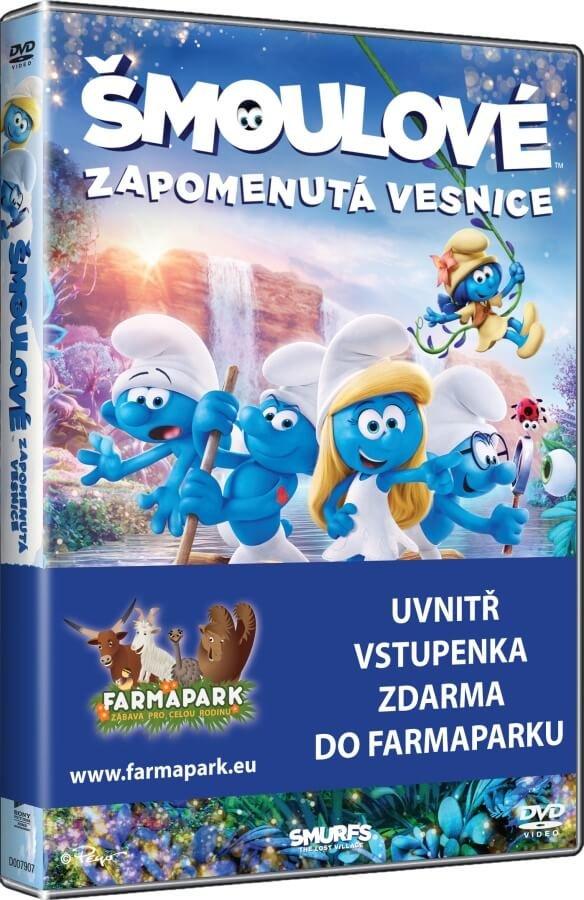 Šmoulové 3: Zapomenutá vesnice (DVD)