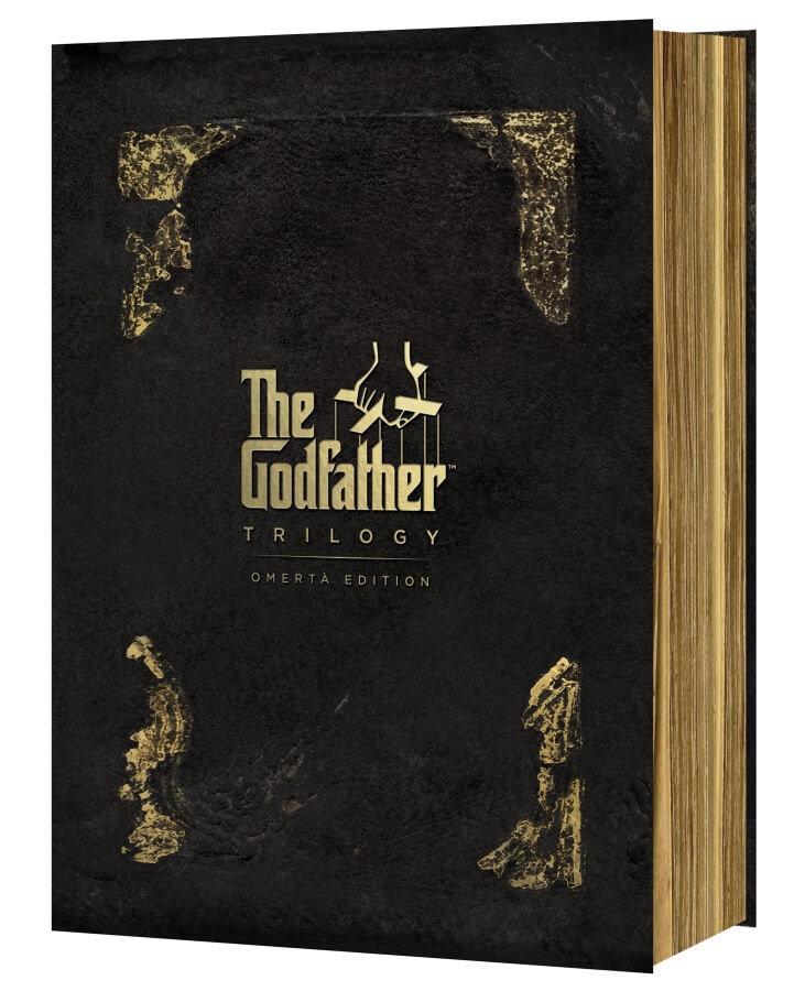 Kmotr kolekce - edice Omerta (4DVD)