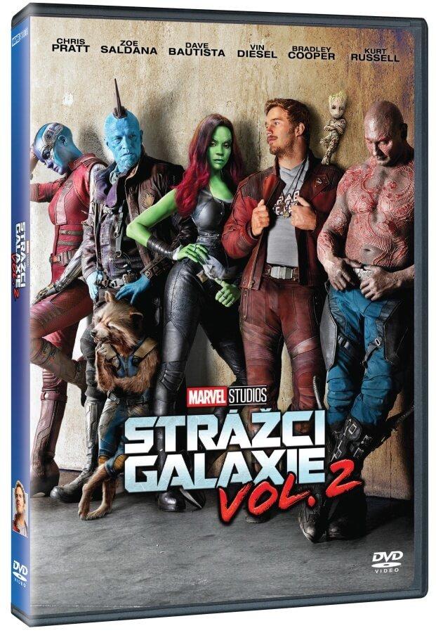 Strážci Galaxie 2 (DVD)