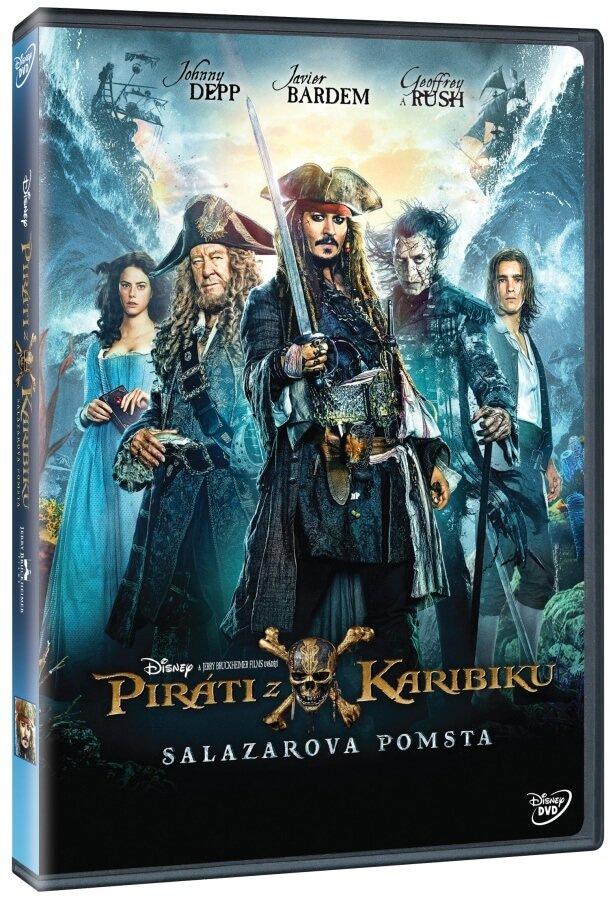Piráti z Karibiku 5: Salazarova pomsta (DVD)