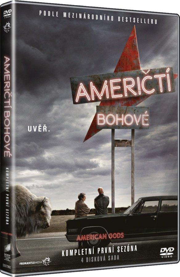 Američtí Bohové 1. sezóna (4 DVD) - seriál