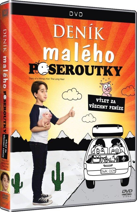 Deník malého poseroutky 4: Výlet za všechny peníze (DVD)