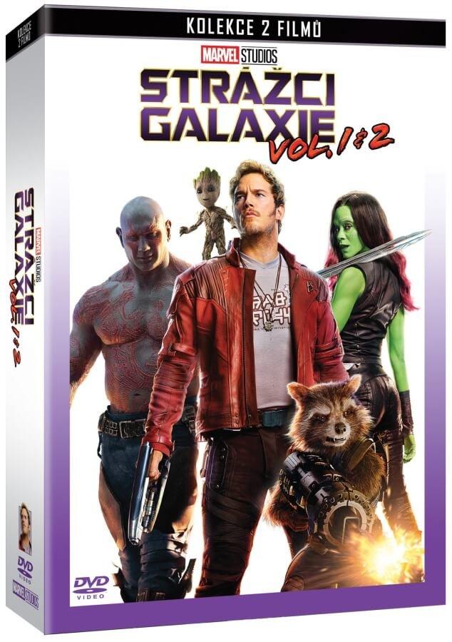Strážci Galaxie kolekce 1-2 (2 DVD)