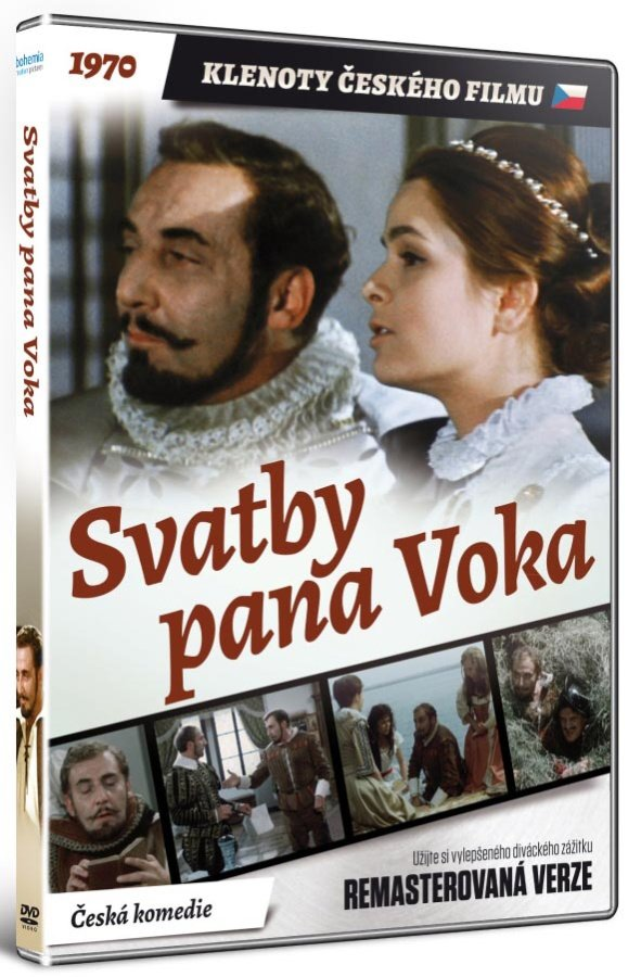 Svatby pana Voka (DVD) - remasterovaná verze