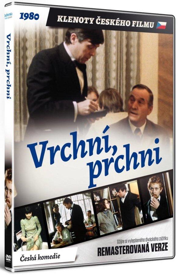 Vrchní, prchni! (DVD) - remasterovaná verze