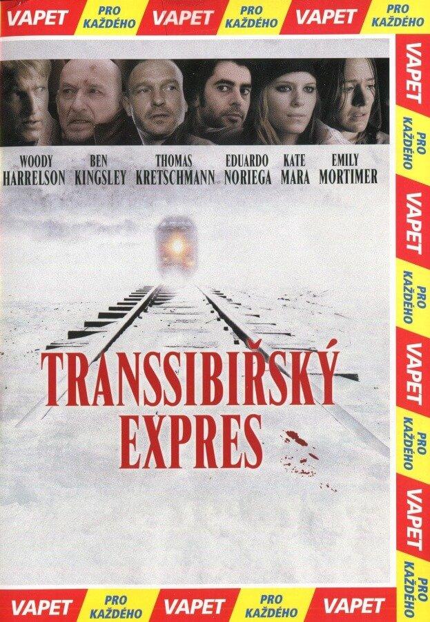 Transsibiřský expres (DVD) (papírový obal)