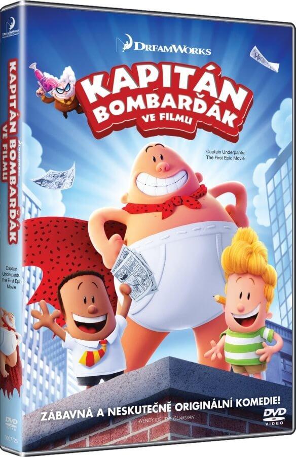 Kapitán Bombarďák ve filmu (DVD)