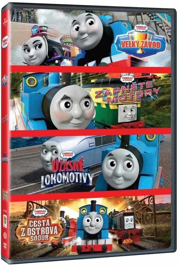 Mašinka Tomáš kolekce (4 DVD)