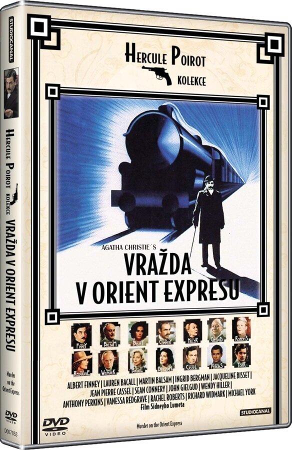 Vražda v Orient expresu (1974) (DVD)