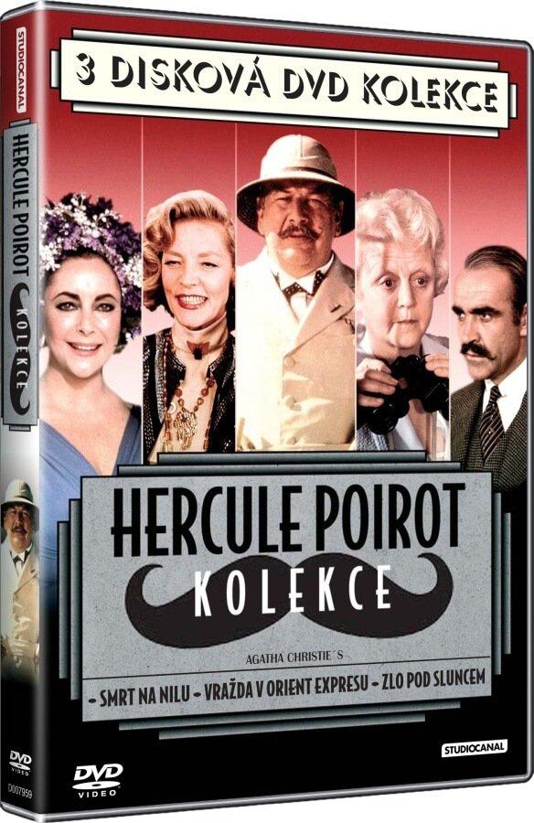 Hercule Poirot kolekce (3 DVD)