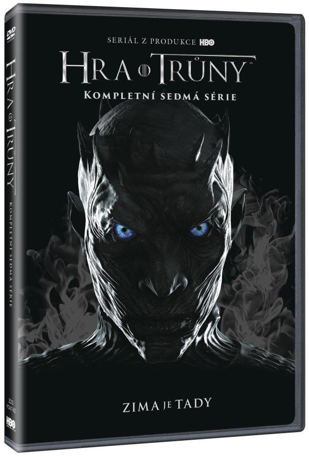 Hra o trůny 7. série - 4 DVD (český dabing)