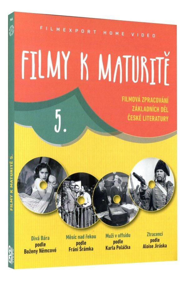 Filmy k maturitě 5 kolekce 4DVD