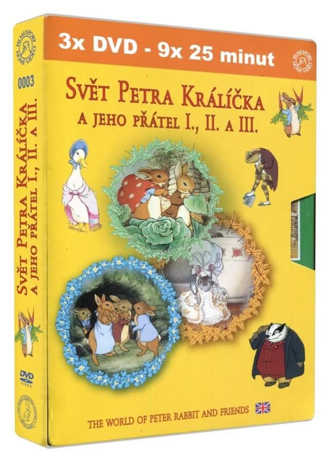 Svět Petra Králíčka a jeho přátel kolekce 1-3 (3DVD)