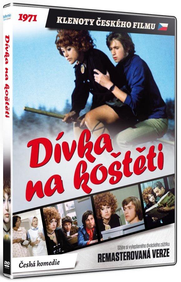 Dívka na koštěti (DVD) - remasterovaná verze
