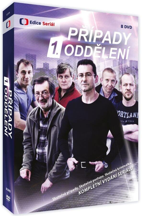 Případy 1. oddělení 1-2 (8 DVD) - kompletní vydání seriálu