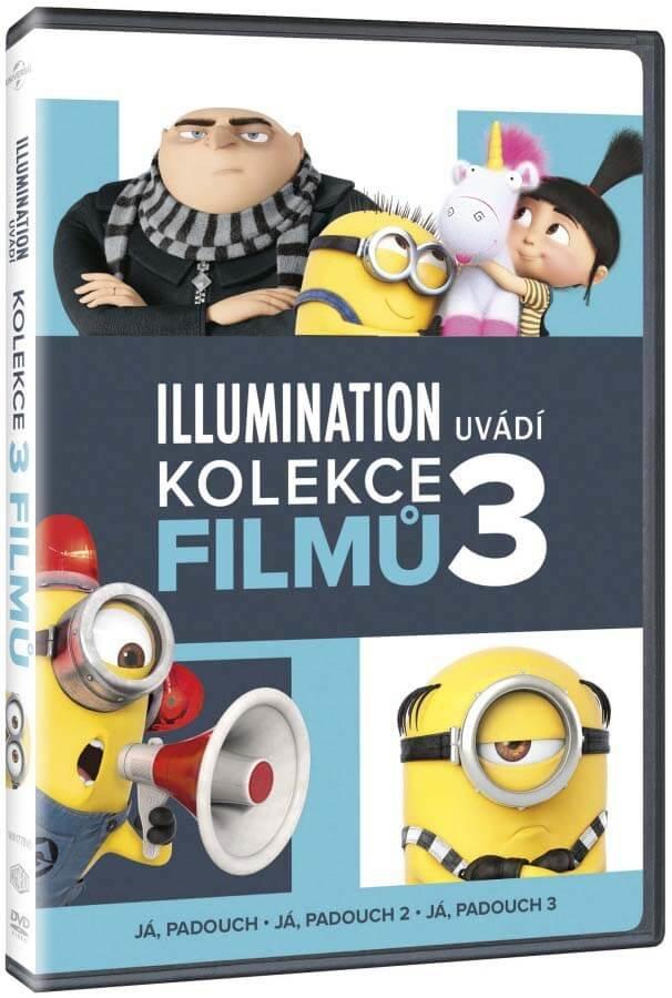 Já, padouch kolekce 1-3 (3 DVD)