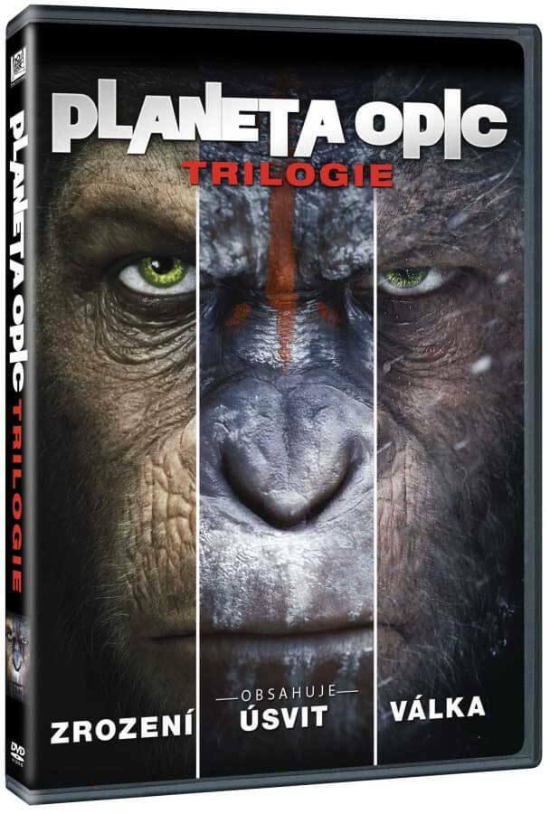 Planeta opic klolekce (3 DVD)