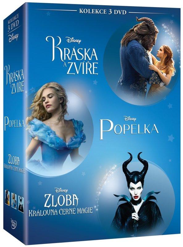 Disney Hrané celovečerní filmy kolekce (3 DVD)