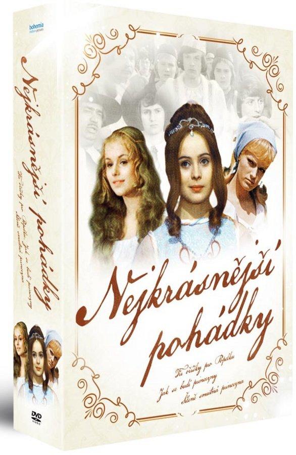 Nejkrásnější české pohádky - kolekce (3 DVD) - remasterovaná verze