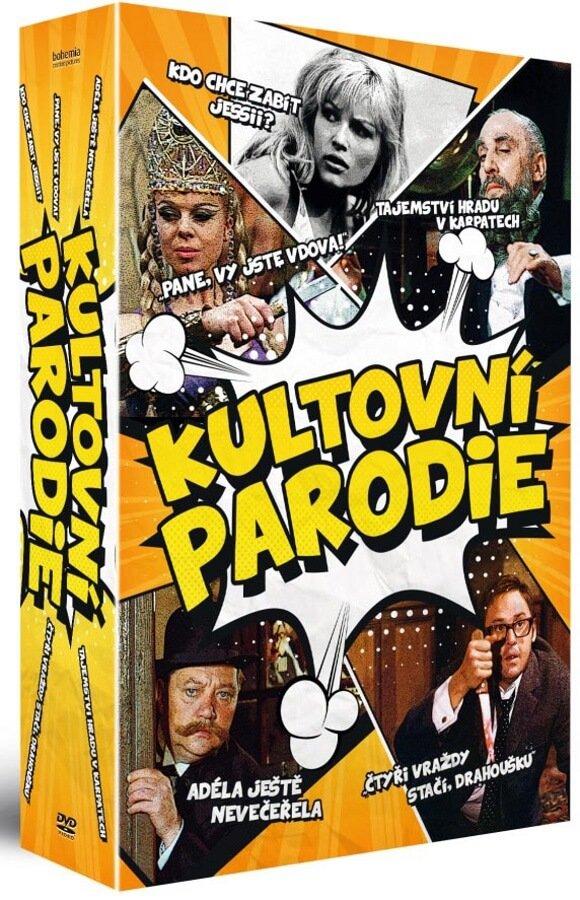 Kultovní parodie kolekce (5 DVD) - remasterovaná verze