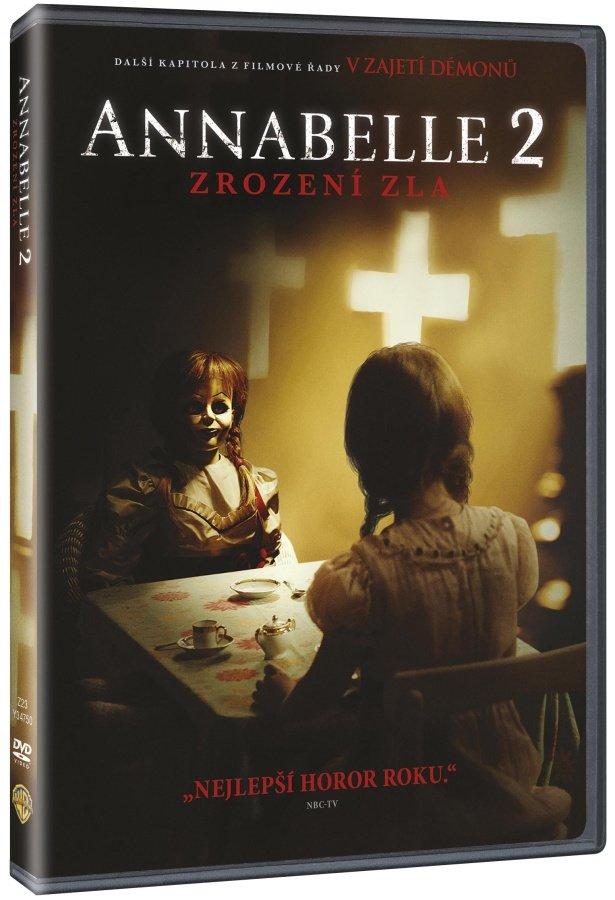 Annabelle 2: Zrození zla (DVD)