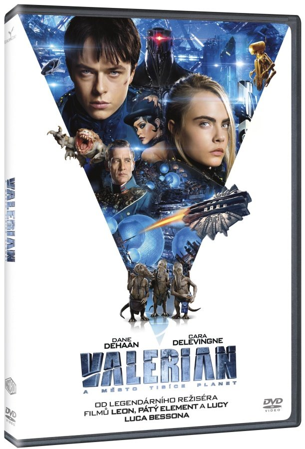 Valerian a město tisíce planet (DVD)