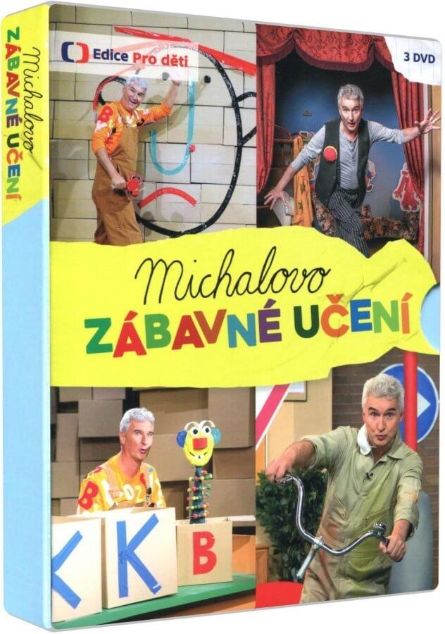 Michalovo zábavné učení (3 DVD)