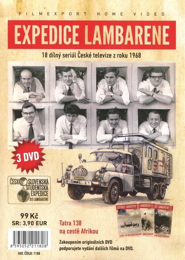 Expedice Lambarene (3 DVD) (papírový obal)