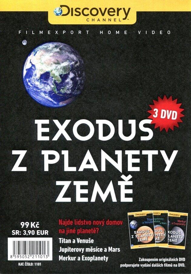 Exodus z planety Země 1-3 kolekce (3 DVD) (papírový obal)