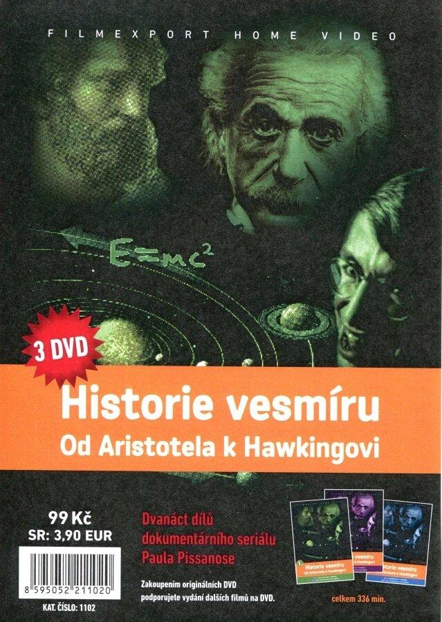 Historie vesmíru: Od Aristotela k Hawkingovi 1-3 kolekce (3 DVD) (papírový obal)