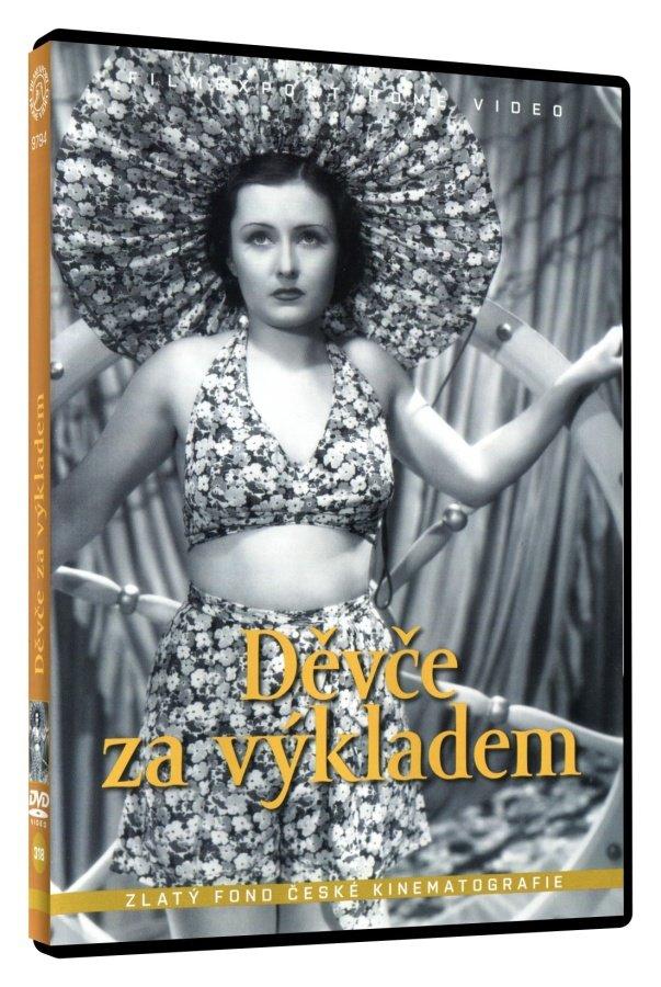 Děvče za výkladem (DVD)