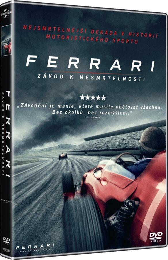 Ferrari - Závod k nesmrtelnosti (DVD)