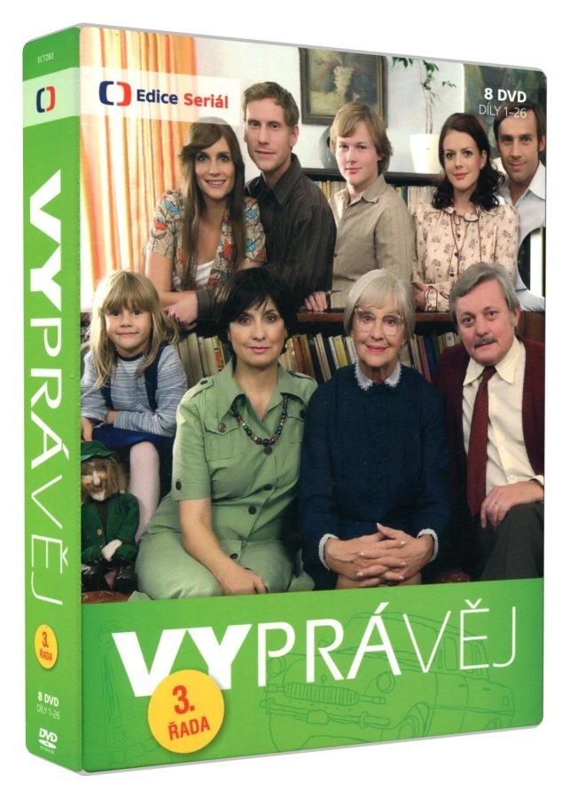 Vyprávěj - 3. série (8 DVD)
