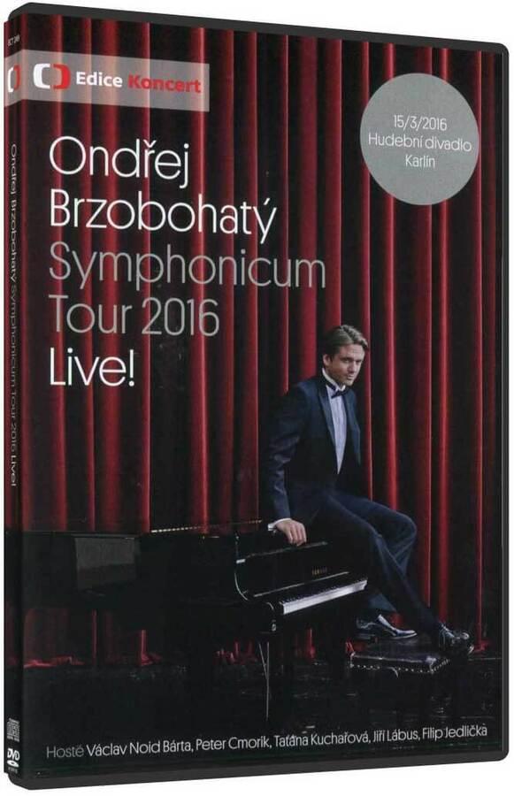 Ondřej Brzobohatý - Symphonicum Tour (DVD+CD)