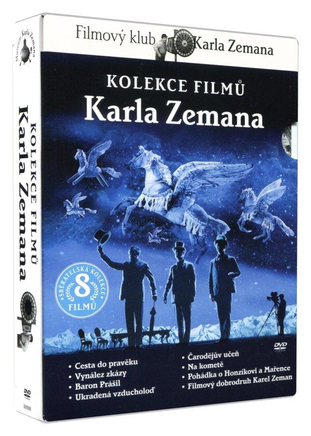 Karel Zeman kolekce (8 DVD)