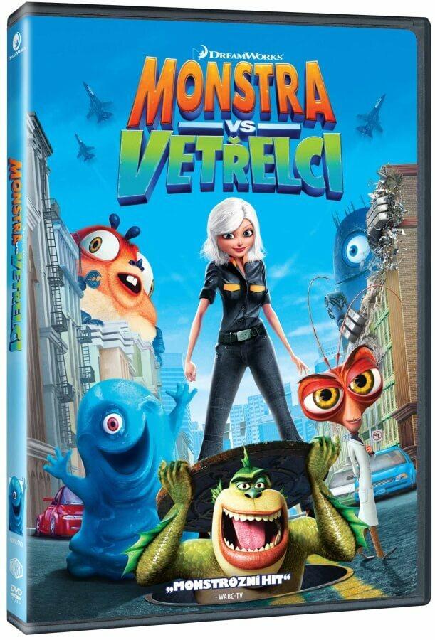 Monstra vs. Vetřelci (DVD) - edice BIG FACE