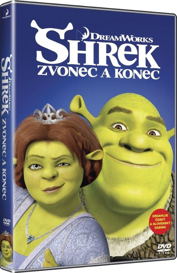 Shrek: Zvonec a konec (DVD) - edice BIG FACE