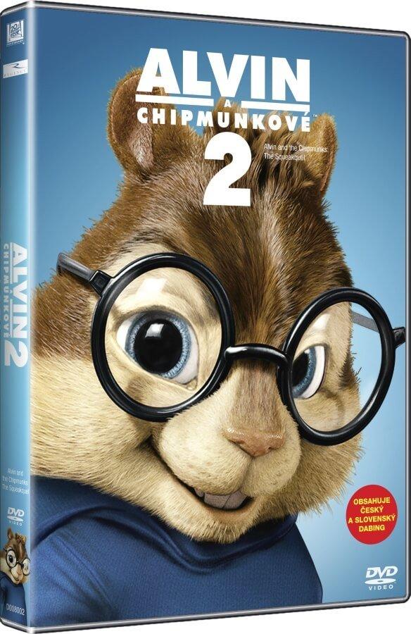Alvin a Chipmunkové 2 (DVD) - edice BIG FACE