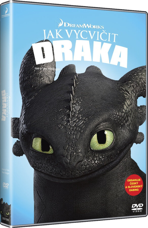 Jak vycvičit draka (DVD) - edice BIG FACE
