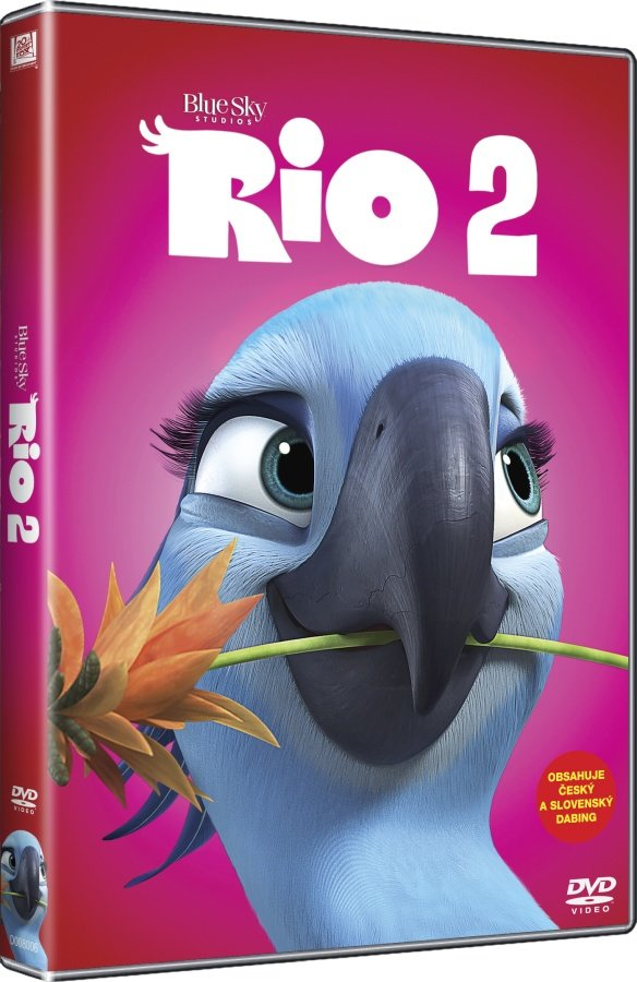 Rio 2 (DVD) - edice BIG FACE