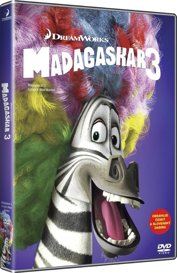 Madagaskar 3 (DVD) - edice BIG FACE