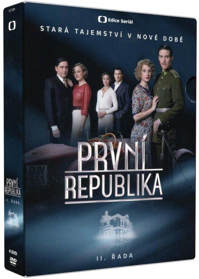 První republika - 2. série (4 DVD) - seriál Česká televize