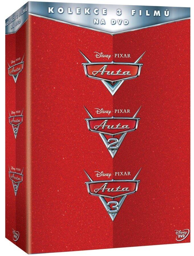 Auta kolekce 1-3 (3 DVD)